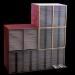 Setof5storagecabinets(for4800micropaleontologicalslides)